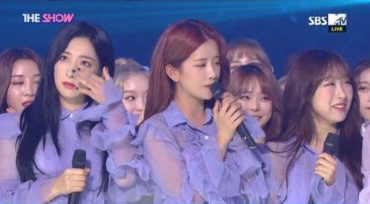 宇宙少女、感激の涙! 「THE SHOW」でデビュー以来初の1位!