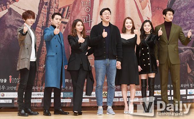 【動画】チュ・サンウク&イ・ミンジョン、SUPERNOVAユナクら、SBSドラマ「運命と怒り」制作発表会に出席