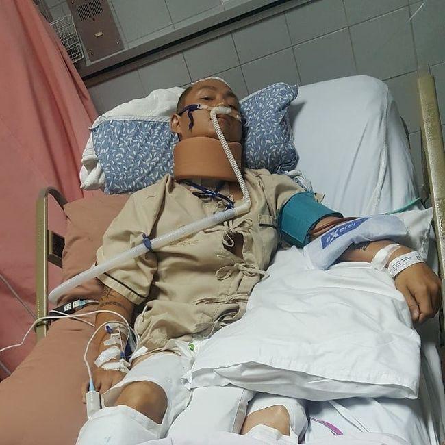 ラッパーのKK、ダイビング中の事故で頸椎骨折…全身麻痺!